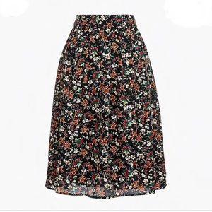 NWOT J.Crew Factory Midi Skirt